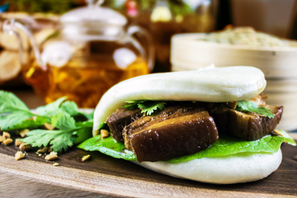 Braised Pork Steam bun